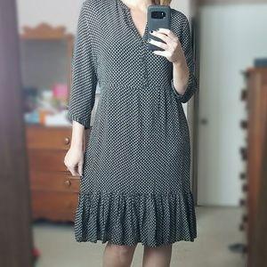 Old Navy black & white dress